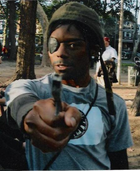 """black super-agent does NOT equal """"pirate"""""""