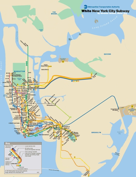 Black And White Subway Map.New York City Subway Map Black Maps Science Politics Comics