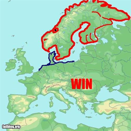 Scandinavia For the Win Black Maps science politics