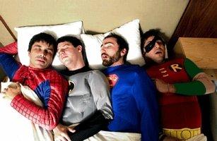 the shins as superheroes