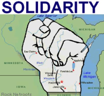 union solidarity fist