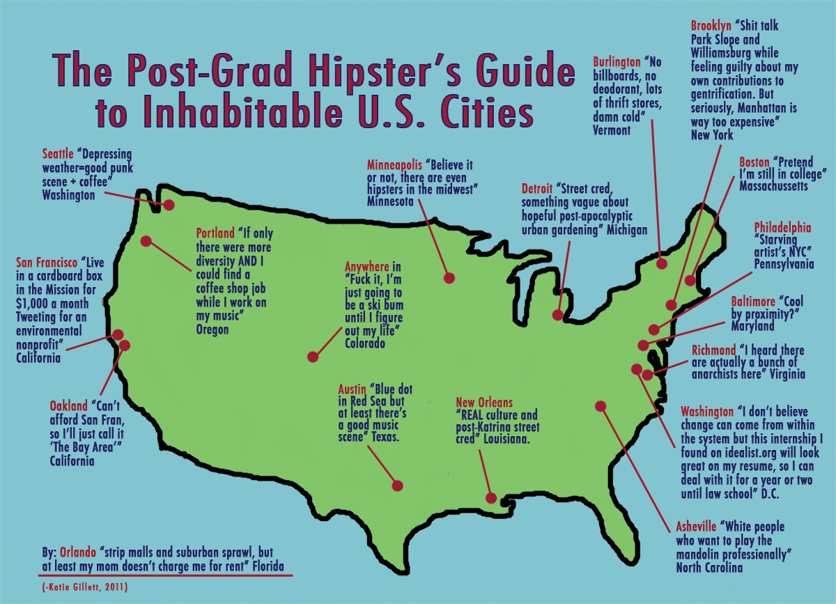 Map of the Week: Find Yourself a City to Live In