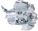 antarctica collage