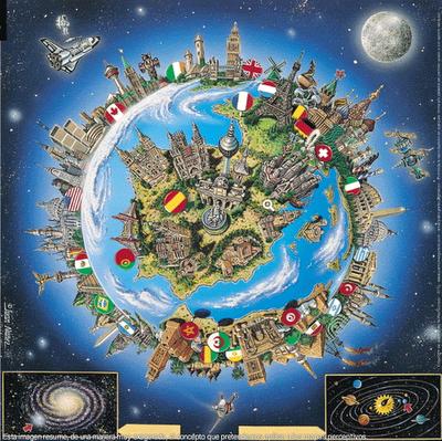 españa centro del mundo