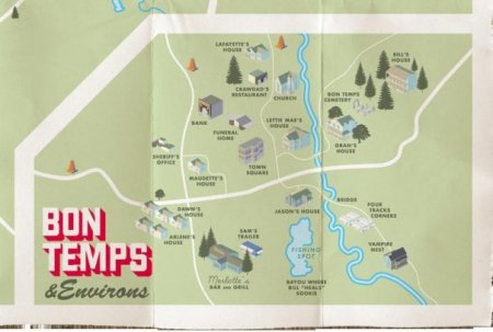 map of Bon Temps